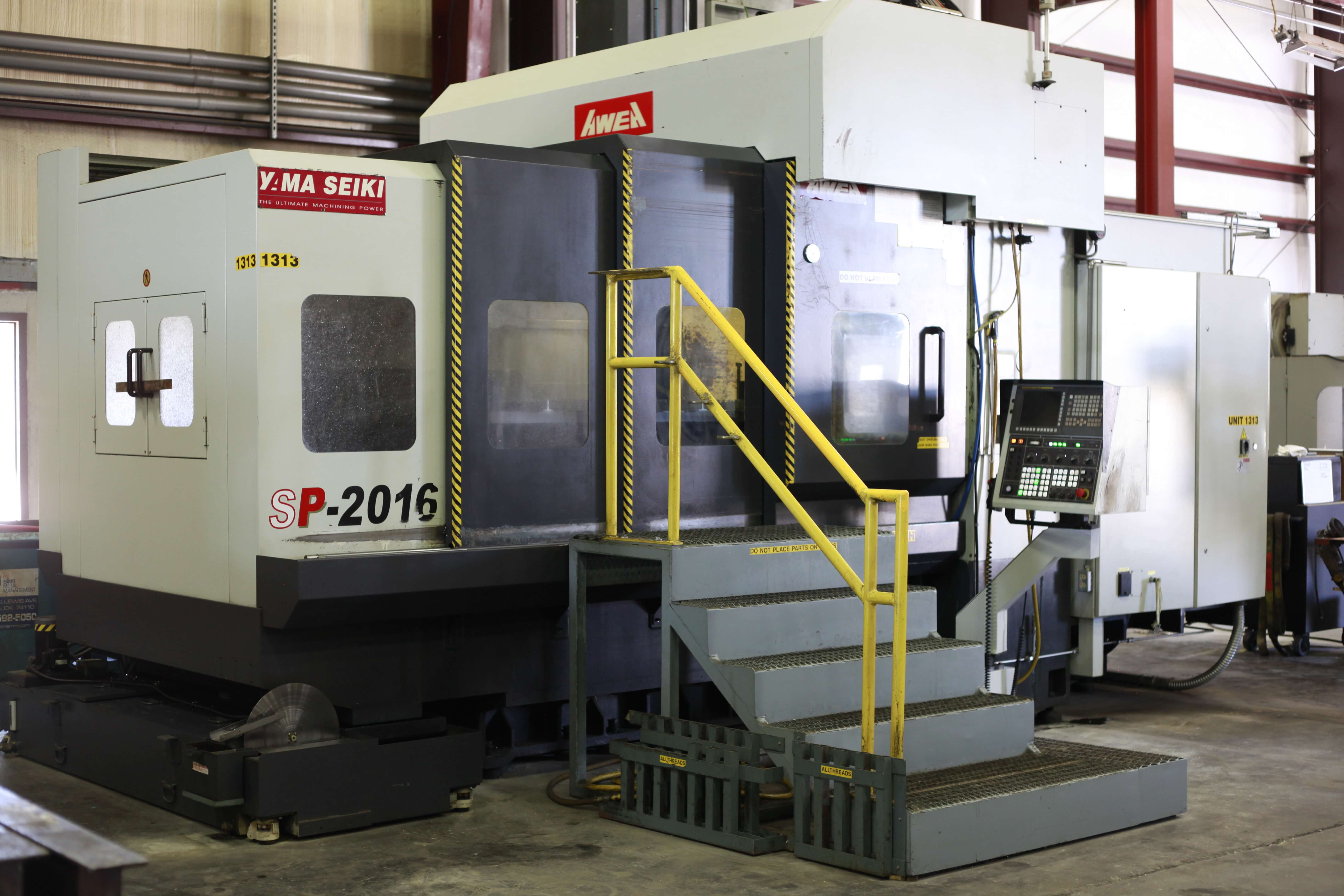 AWEA SP-2016 Vertical Machining Center